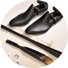Raw Wood Pointed Shoetrees - VALMOUR