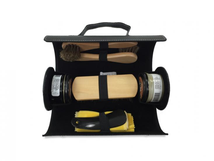 Travel Shoe Polish Box Capitole
