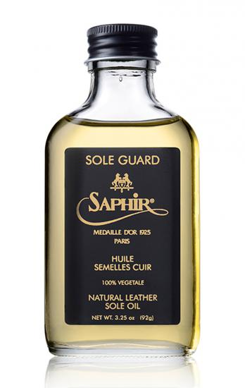 Oil for Leather Soles SOLE GUARD Saphir Médaille d'Or_thumbnail