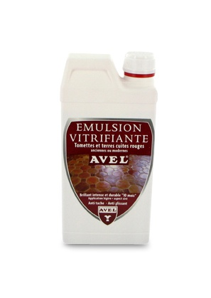 Varnishing Emulsion Red Terracotta AVEL