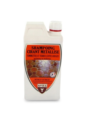 Metallic Wax Shampoo Red Terracotta AVEL