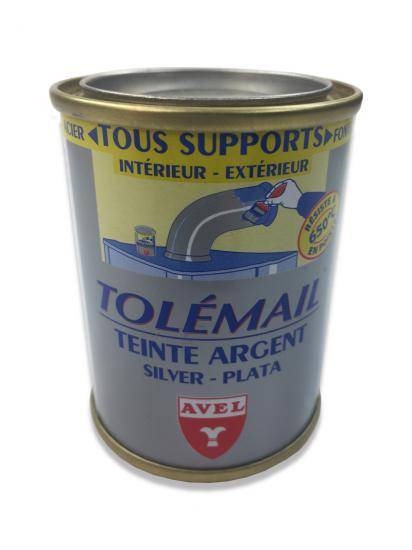 TOLEMAIL Silver High Temperature Paint