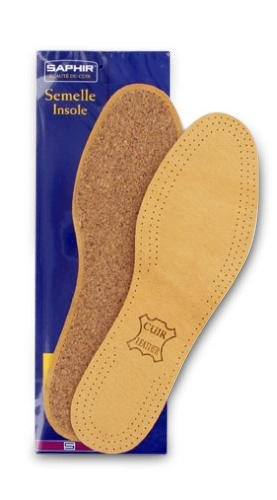 Leather on Cork Insoles SAPHIR_thumbnail
