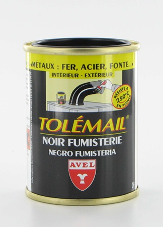 TOLEMAIL Black High Temperature Paint