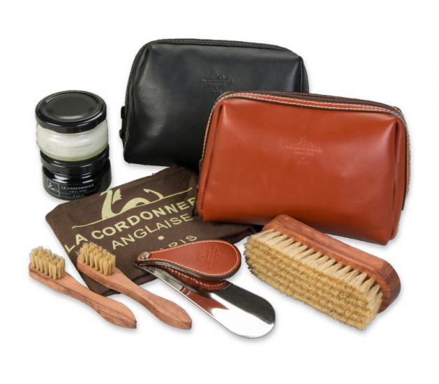 Shoe Polish Case CLIPPER SET LCA