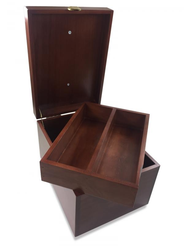 New Leather Care Presentation Box Footrest VALMOUR