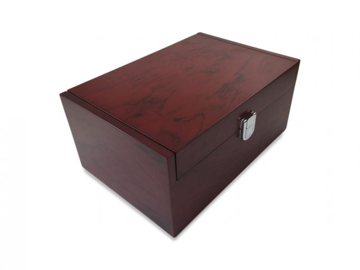 Shoe Polish Box Mahogany Capitole