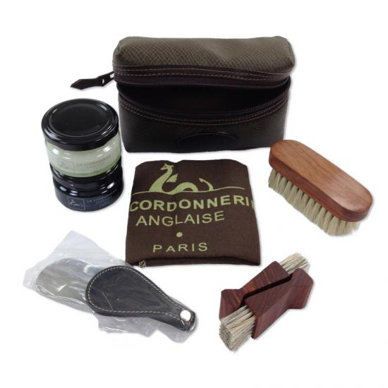 Shoe Polish Travel Kit SET POUCH TWO