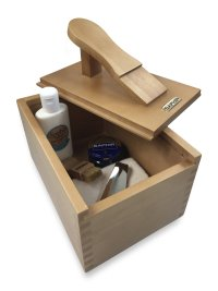 Shoe Polish Box Footrest Birch Saphir_thumbnail