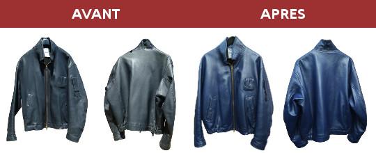 Renover vieille veste cuir